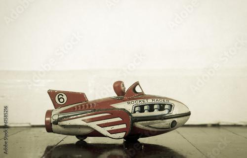 Fotografie, Obraz  rocket toy