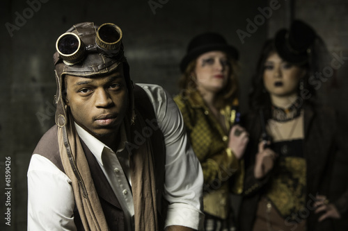 Photo  Steampunk Trio