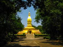 Pagoda In Wat Nong Pah Pong