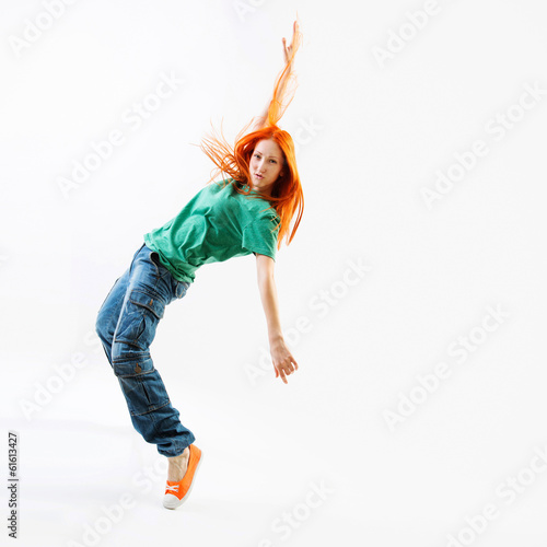 Photographie Modern style female dancer