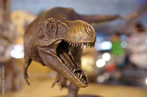 Naklejka premium Tyranozaur
