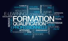 Formation à Distance Qualification Professionnelle Tag Cloud
