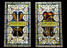 Stained Glass On The Parliamen...