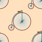 Bezszwowe tło rowerowe - 61640676