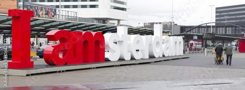 Deurstickers Amsterdam schiphol amsterdam