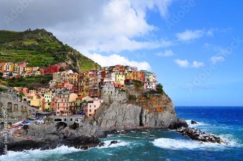 Fotobehang Liguria Manarola Cinque Terre Italy