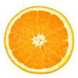 canvas print picture - orange slice