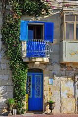 Fototapeta na wymiar Maltese traditional house