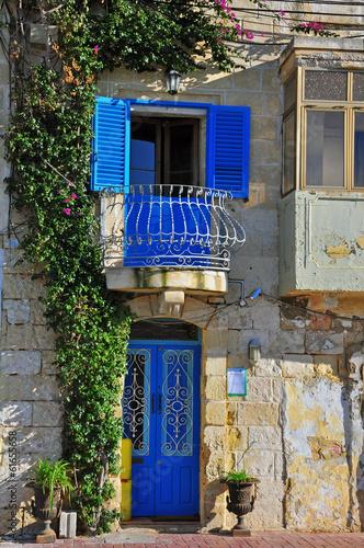 Fototapeta Maltese traditional house