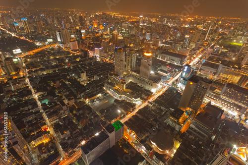 nuit dur Bangkok, Thaïlande