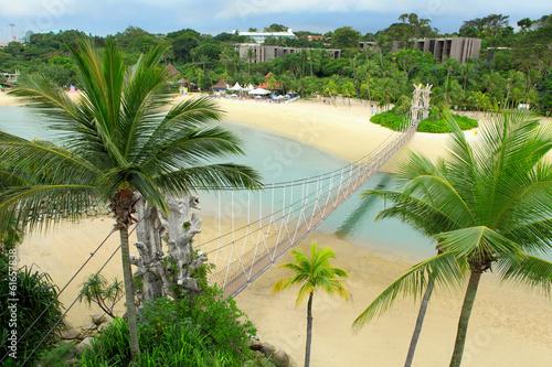 Photo  Sentosa island in Singapore