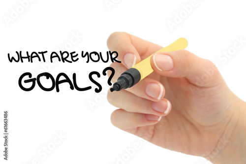 Photo  what are your goals?