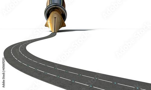 Fotografía  Infrastructure Pen And Road