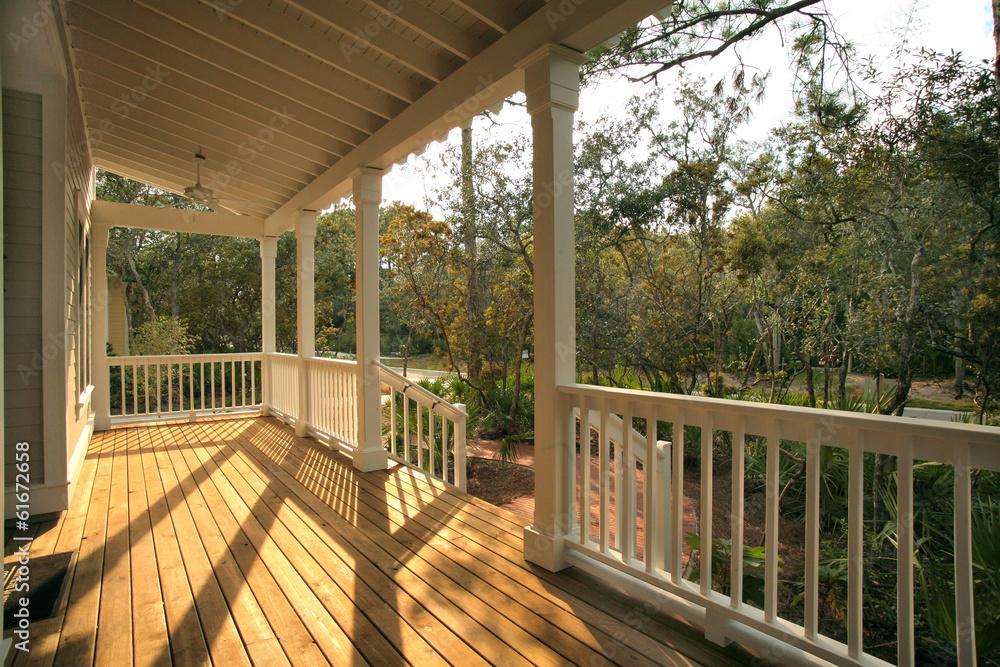 Fototapety, obrazy: Porch and Yard