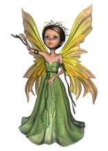 Green Fairy Butterfly