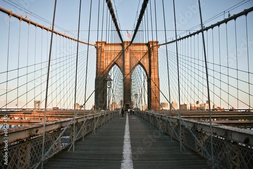 Keuken foto achterwand New York Pedestrian walk