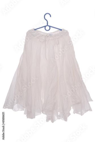 Fotografie, Tablou white flared skirt