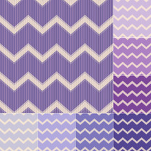 Seamless Purple Violet Chevron...