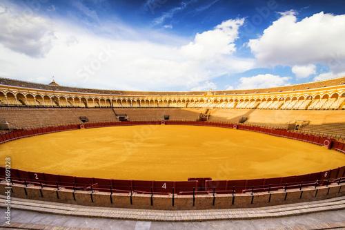 Bullfight arena (Plaza de toros de la Real Maestranza) Sevilla
