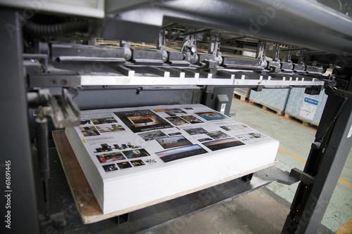 Fototapeta Printing processes obraz