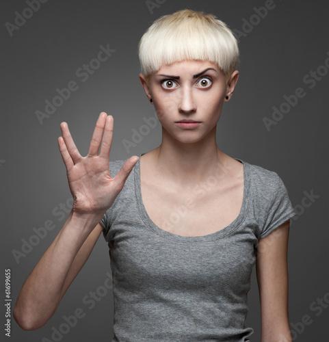 Valokuva Female Spock
