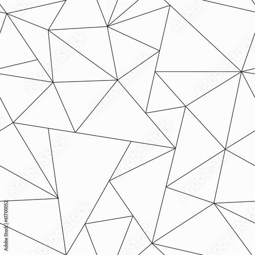 fototapeta na drzwi i meble monochromatyczny trójkąt szwu wzór