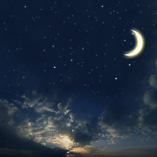 Beautiful Night Sky With A Lot...