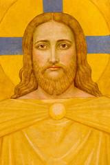 Fototapeta Vienna - Jesus Christ fresco in Carmelites church