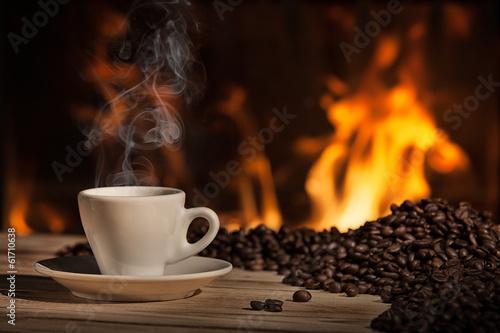 Poster Café en grains caffè napoletano