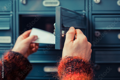 Fotomural Checking for mail