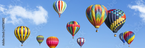 Recess Fitting Balloon Colorful hot air balloons