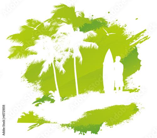 zielony-kleks-z-palmami