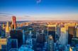 Central Park aerial view, Manhattan