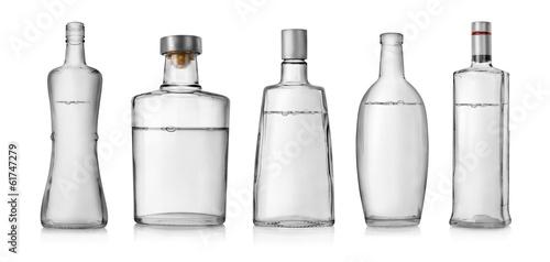 Photo  Bottles of vodka