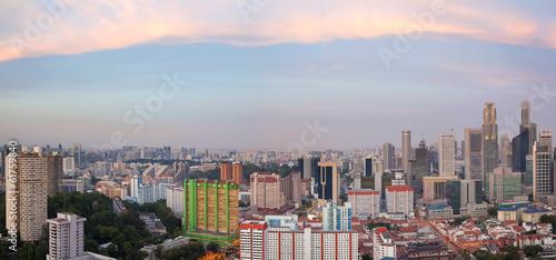 Photo  Singapore Chinatown Cityscape Panorama