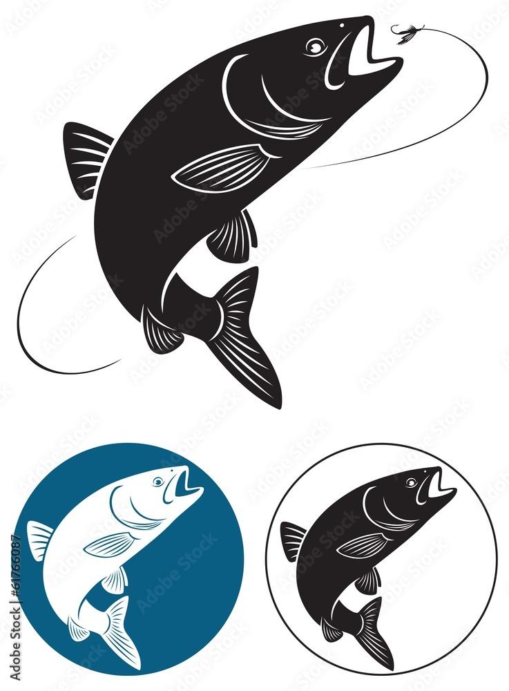 Fototapeta chub fish