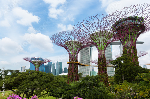 Tuinposter Singapore Garden by the bay, Singapour