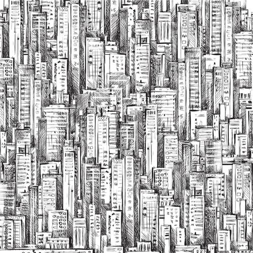 cityscape-recznie-rysowane-wektor-szkic-budynki