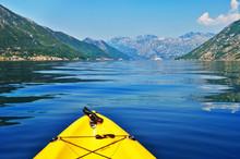Kayak Travelling In Montenegro Kotor Bay