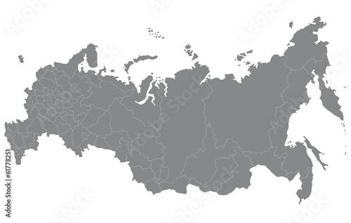Obraz ロシアの地図 - fototapety do salonu