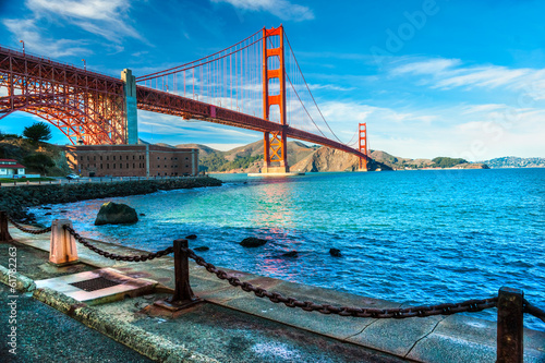 Canvas Prints San Francisco Golden Gate, San Francisco, California, USA.