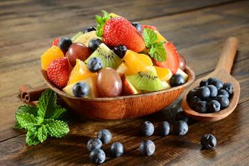 Obraz na SzkleFruit salad