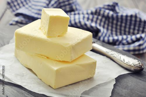 Staande foto Zuivelproducten Fresh butter