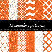Twelve Seamless Geometric Patt...