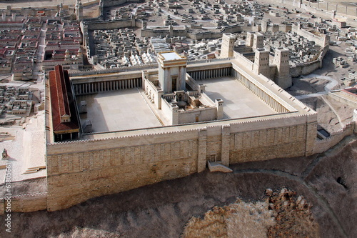 Second Temple. Ancient Jerusalem. Israel
