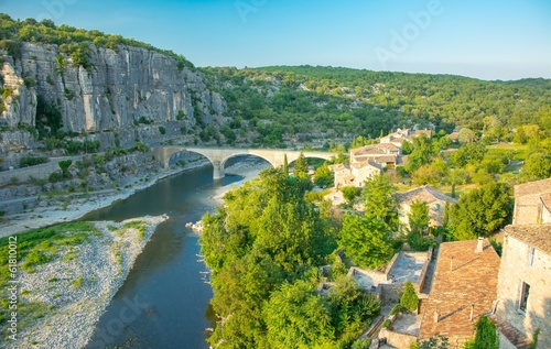 Pinturas sobre lienzo  Balazuc en Ardèche, plus beau village de France
