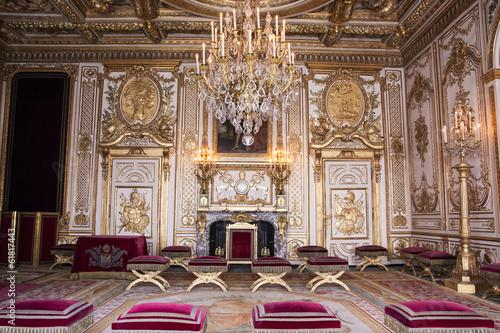 Foto  Interni del castello di Fontainebleau