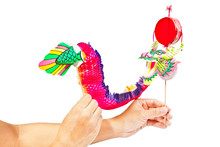 Paper Dragon Puppet