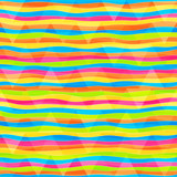 rainbow lines seamless pattern