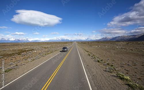 Cadres-photo bureau Amérique du Sud Endless empty country highway, Ruta 40.